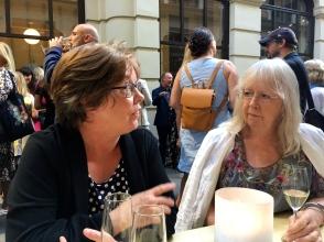 Monika N. Yndestad og Merete Lien