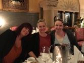 Lunsj på Bristol: Tone Loeng, May Lis Ruus og Elin Windsand
