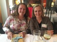 Middag: Janita Nordli og May Lis Ruus